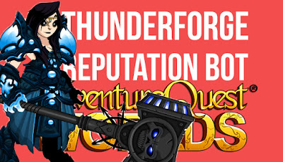 Fastest Thunderforge Rep Bot AQW Grimoire