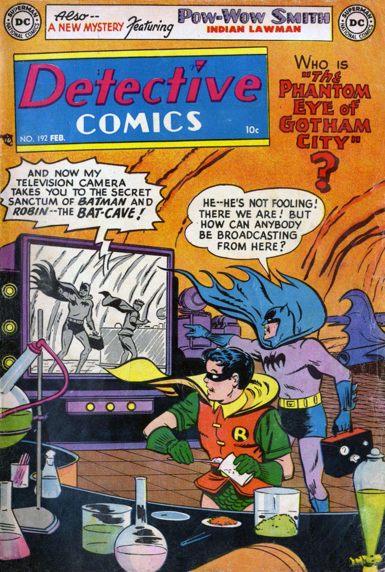 Detective Comics (1937) 192 Page 0