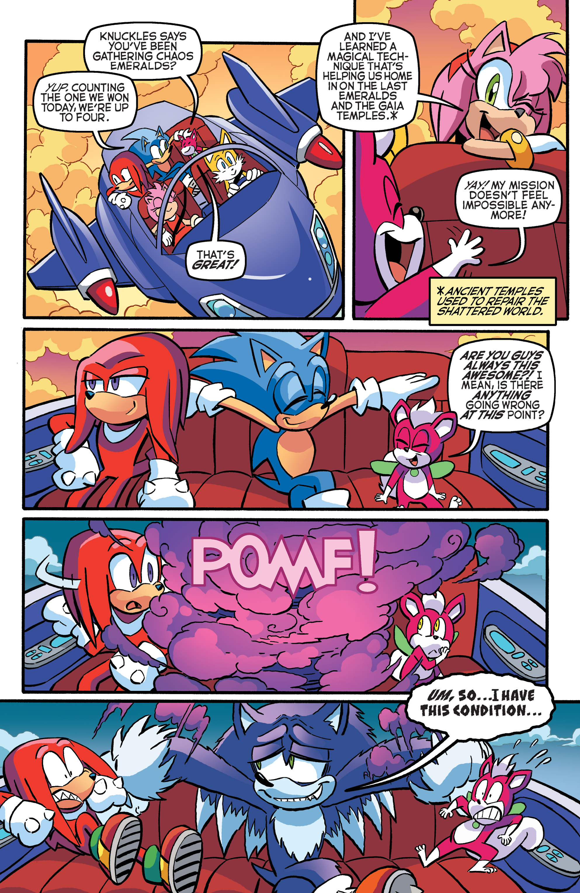 Read online Sonic The Hedgehog comic -  Issue #271 - 20