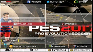 FTS‬ Mod PES 17 by Rudy Apk + Data
