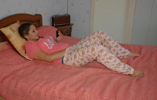 girl pajamas masturbate