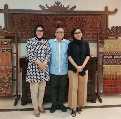 Pesan Zulkifli Hasan ke Tatong Bara
