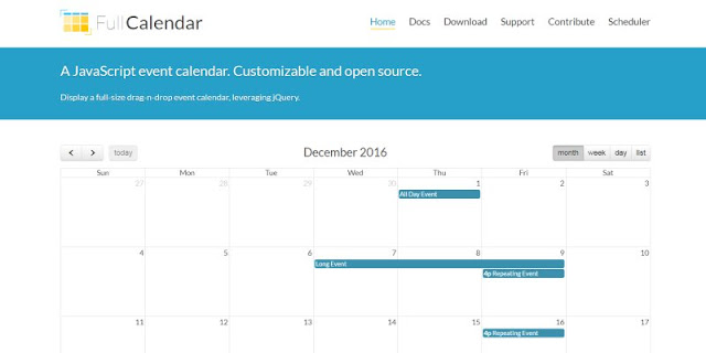 將Google 行事曆排程顯示在網頁﹍FullCalendar CDN 安裝懶人包