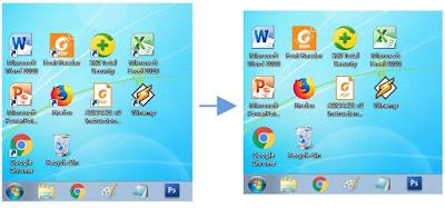 Cara Menghilangkan Ikon Tanda Panah Pada Shortcut Di Windows 7