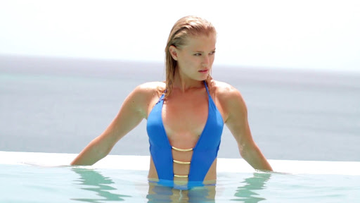 Vita Sidorkina Sauvage Swimwear Campaign youtube video