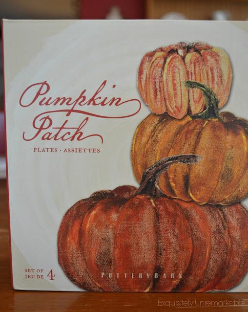 Pottery Barn Pumpkin Patch Plates