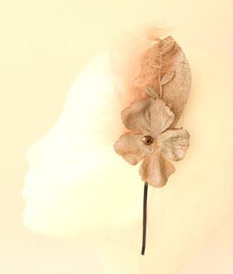 PV 2017 - Coleccion Bronce 3 Diadema Tocado flor