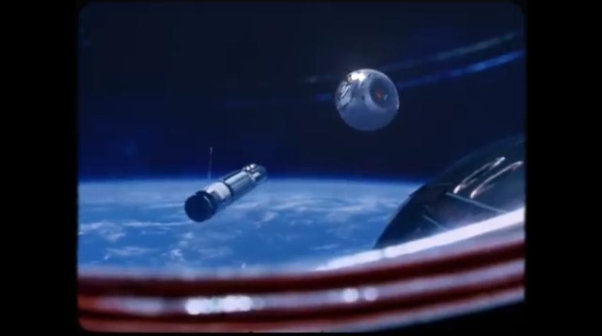 Archivio di filmati NASA nella saga Scifi UFO del nuovo video musicale di Nigel Stanford