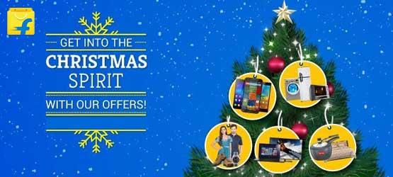 Flipkart Christmas Sale 2016 Shopping Discount Deals India