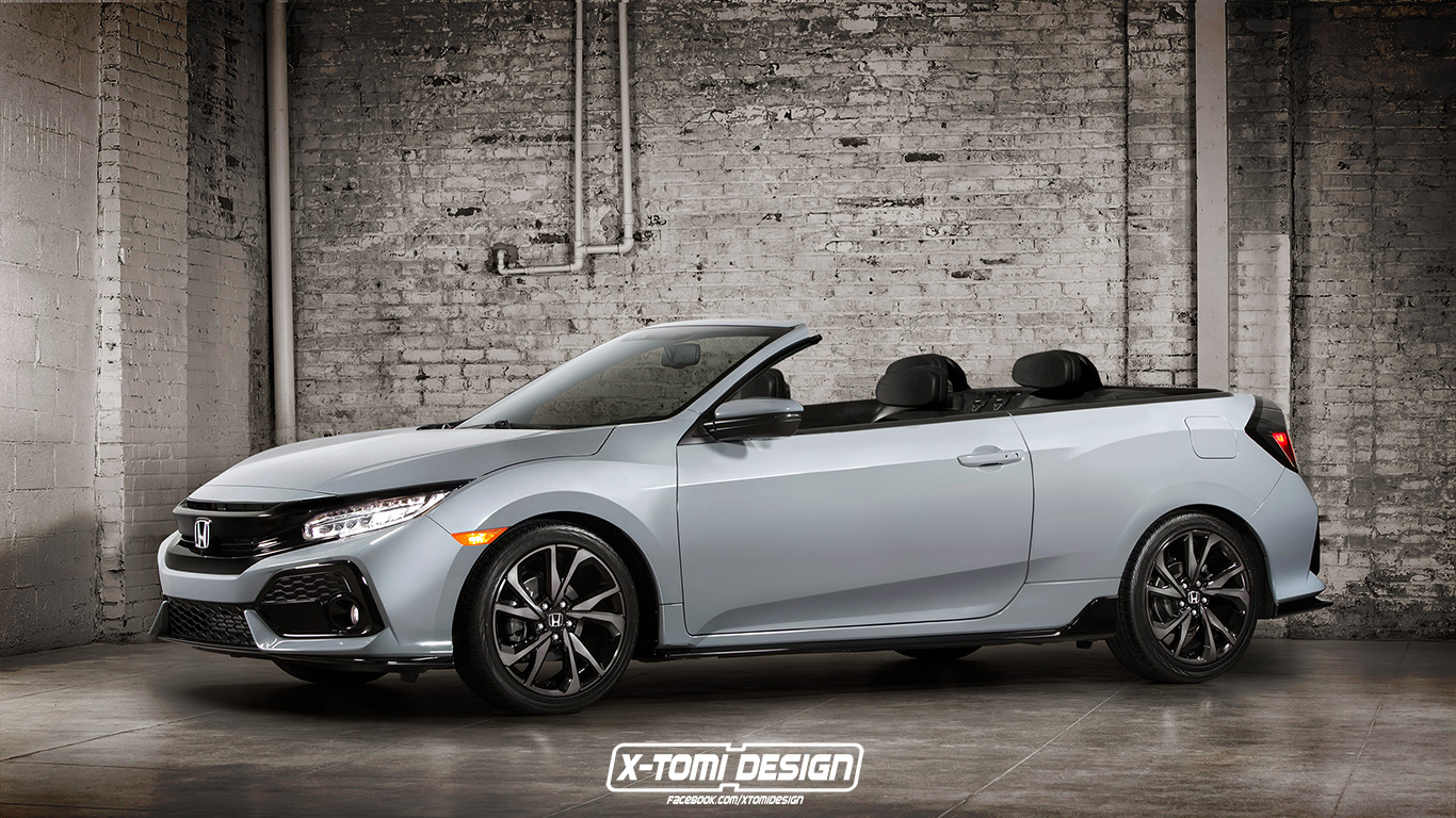 Honda Civic Cabriolet Is A Curious Car Unlikely To Happen
