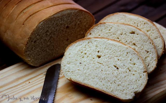 Pan para torrijas casero. Julia y sus recetas