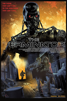 The Terminator Regular Edition Screen Print by Stan & Vince x DaVinci's Dreams