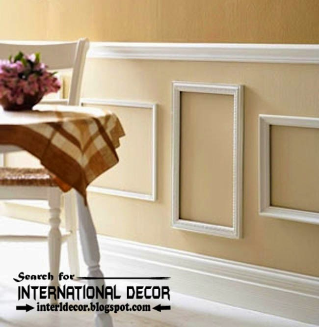 This Is Decorative wall molding or wall moulding designs, ideas ...