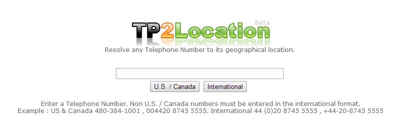 Cara melacak nomor ponsel seseorang melalui TP2Location.