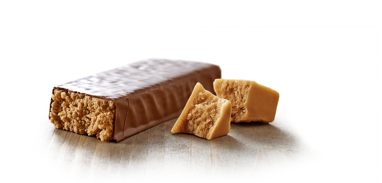 Curves maaltijdreep chewy caramel delight