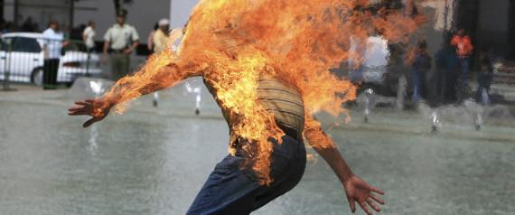 Un étudiant Marocain s'immole par le Feu dans le bureau du directeur d'un établissement de Rabat.