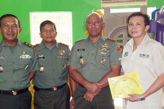 Peresmian Rumah Pintar Cakra Cendekia I/Kostrad, Cilodong