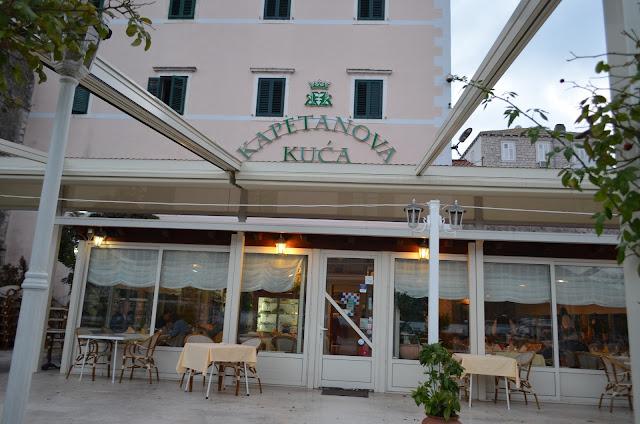 хорватия, мали стон, дом капитана, рестораны хорватии, лучший ресторан хорватия, морепродукты хорватия