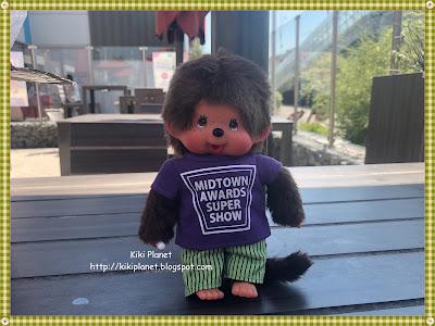 kiki monchhichi Freizeitlook casual t-shirt violet midtown