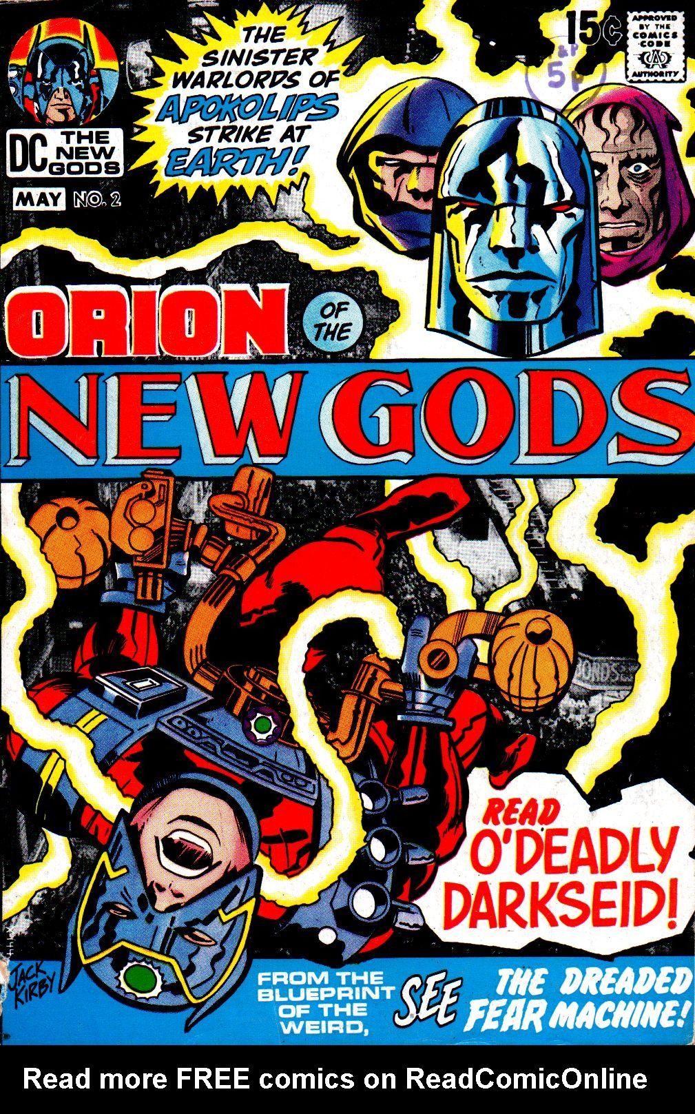 The New Gods (1971) issue 2 - Page 1