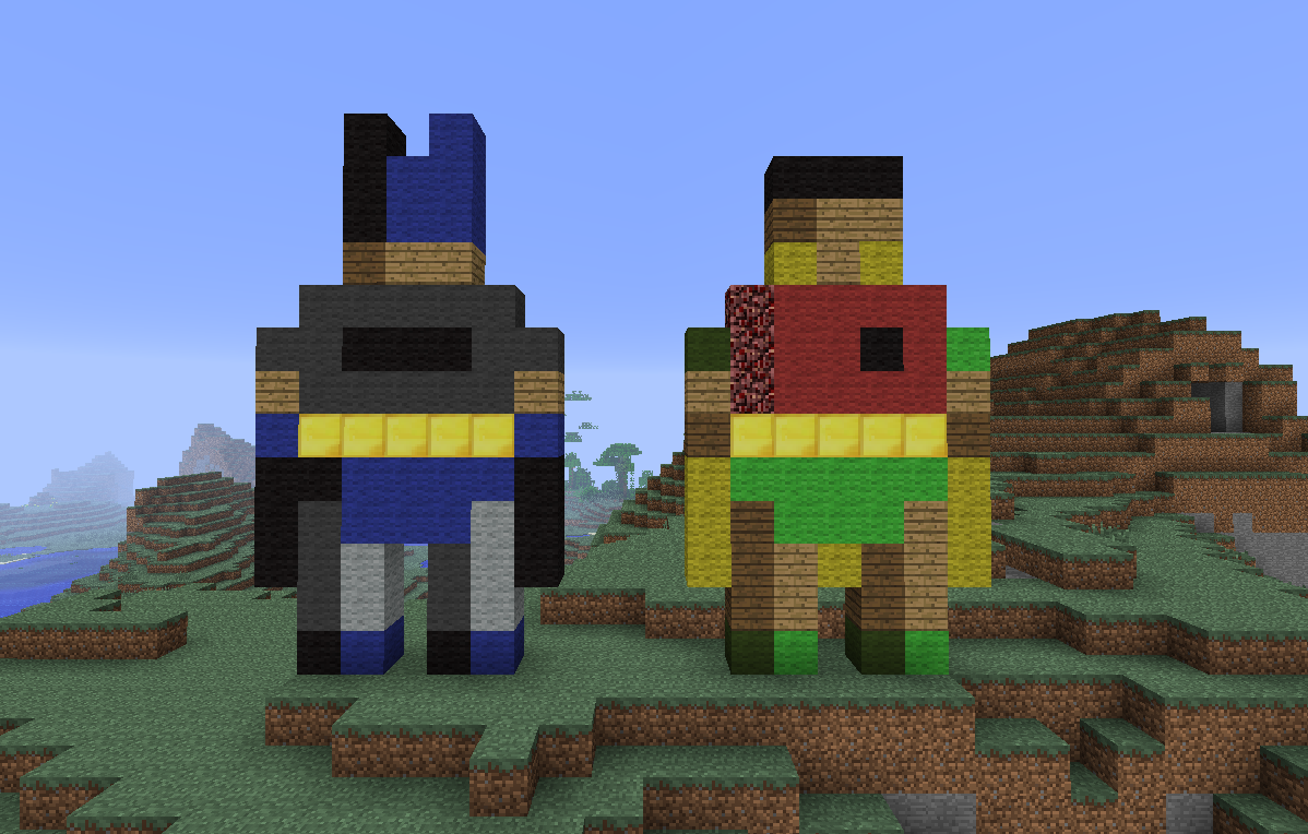 Minecraft Build Your Comments