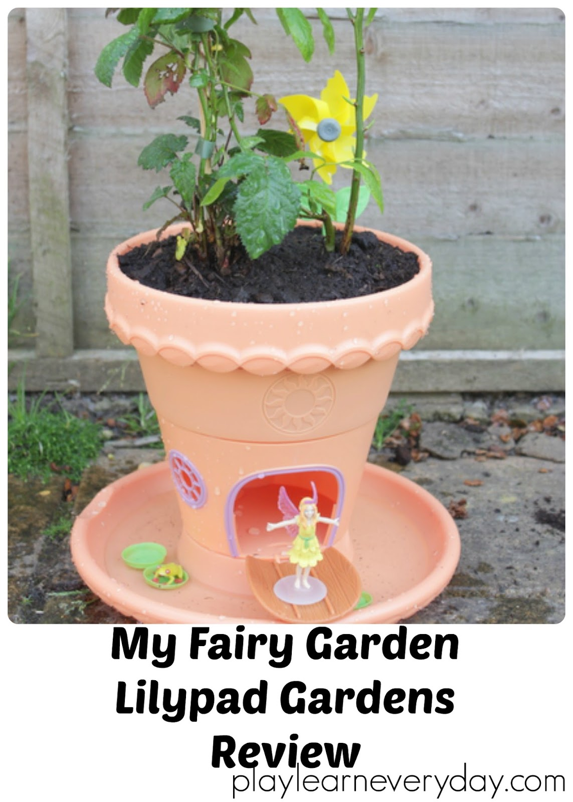 My fairy garden lilypad gardens review play and learn for Myfairygardens com