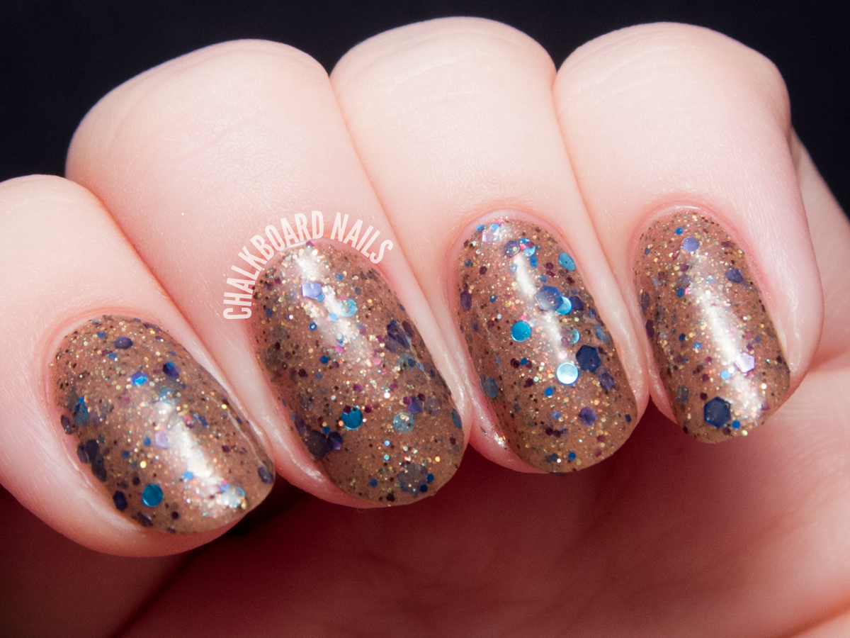Serum No. 5 Work Hard Play Hard via @chalkboardnails