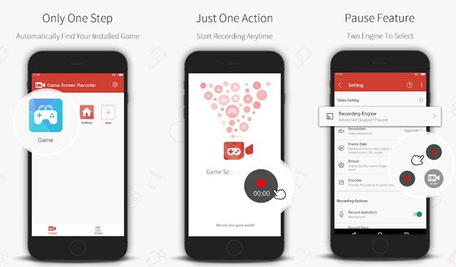 Aplikasi Game Screen Recorder