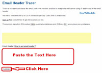 how to find out location of email sender