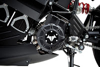 Brammo Empulse R Electric Motorcycle detail