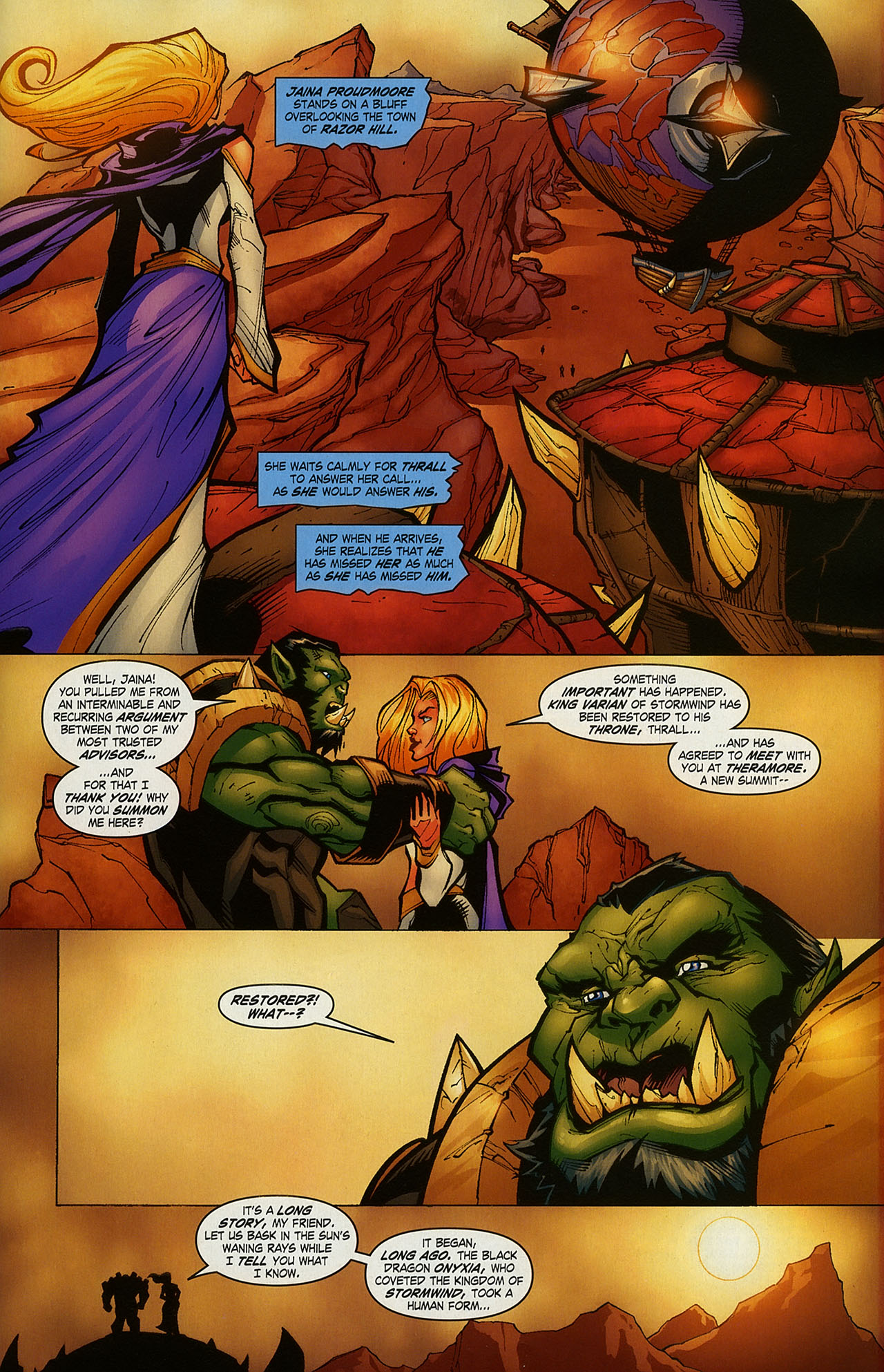 Read online World of Warcraft comic -  Issue #15 - 19