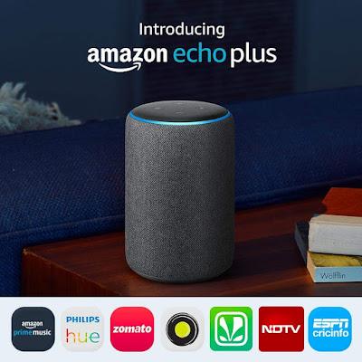Amazon announces new 2018 edition - Echo Dot, Echo Plus & Echo Sub in India.