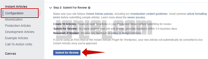 Cara Setting Facebook Instant Article Di Blogger