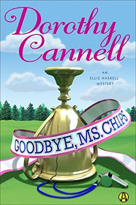 Twitter, Review, Goodbye Ms. Chips, Dorothy Cannell, Bea's Book Nook