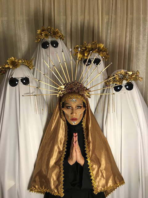 Halloween Cebu The Cult - By Eufil Uy Right