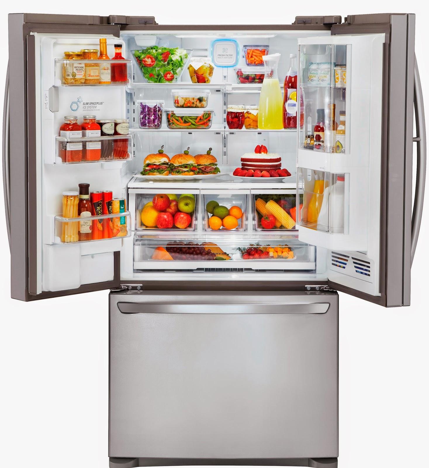Messy Refrigerator: Stella Dimoko Korkus.com: LG'S INNOVATIVE DOOR-IN-DOOR