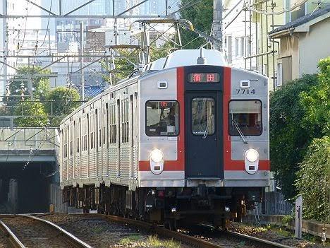 【もうすぐ引退!】東急7700系歌舞伎塗装 蒲田行き(2018年引退)