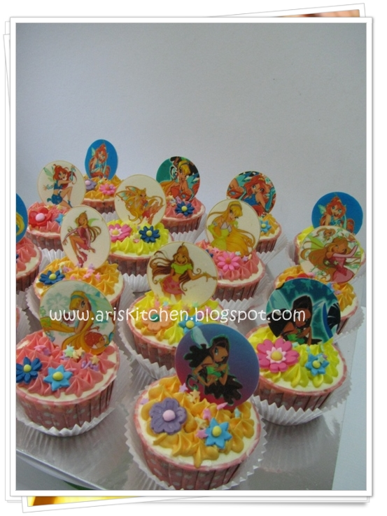 D Angel Cakes Winx Club Cake And Cupcakes