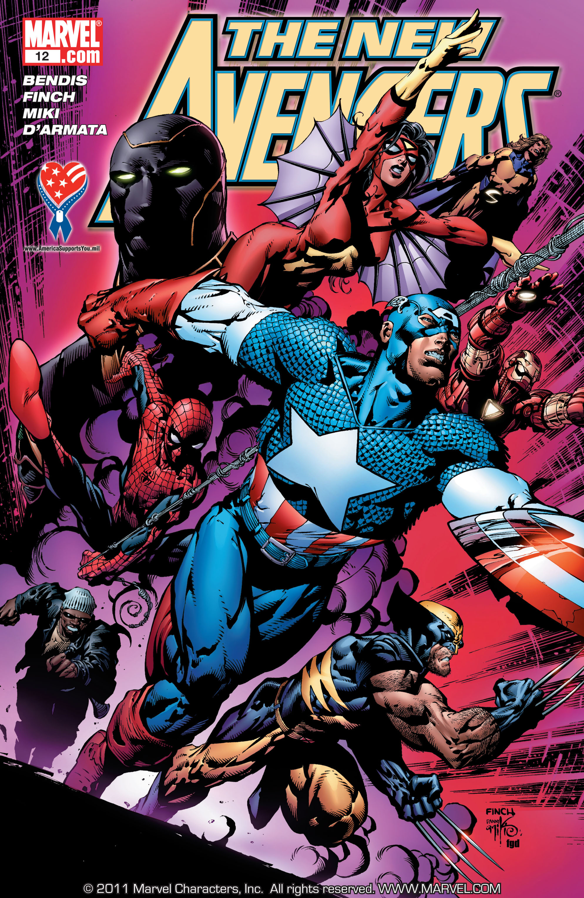 New Avengers (2005) issue 12 - Page 1