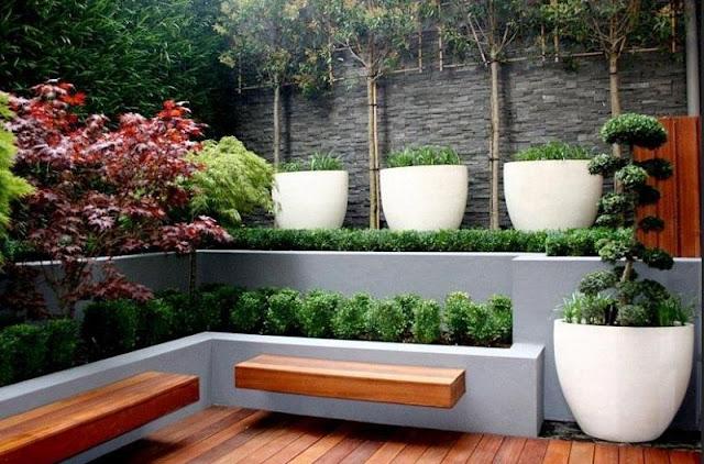 Gartendeko Modern Edelstahl