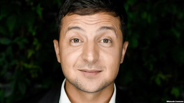 Volodymyr Zelenskyy Ahead In Ukrainian Presidential Election