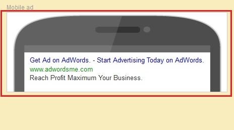 mobile ads google adwords
