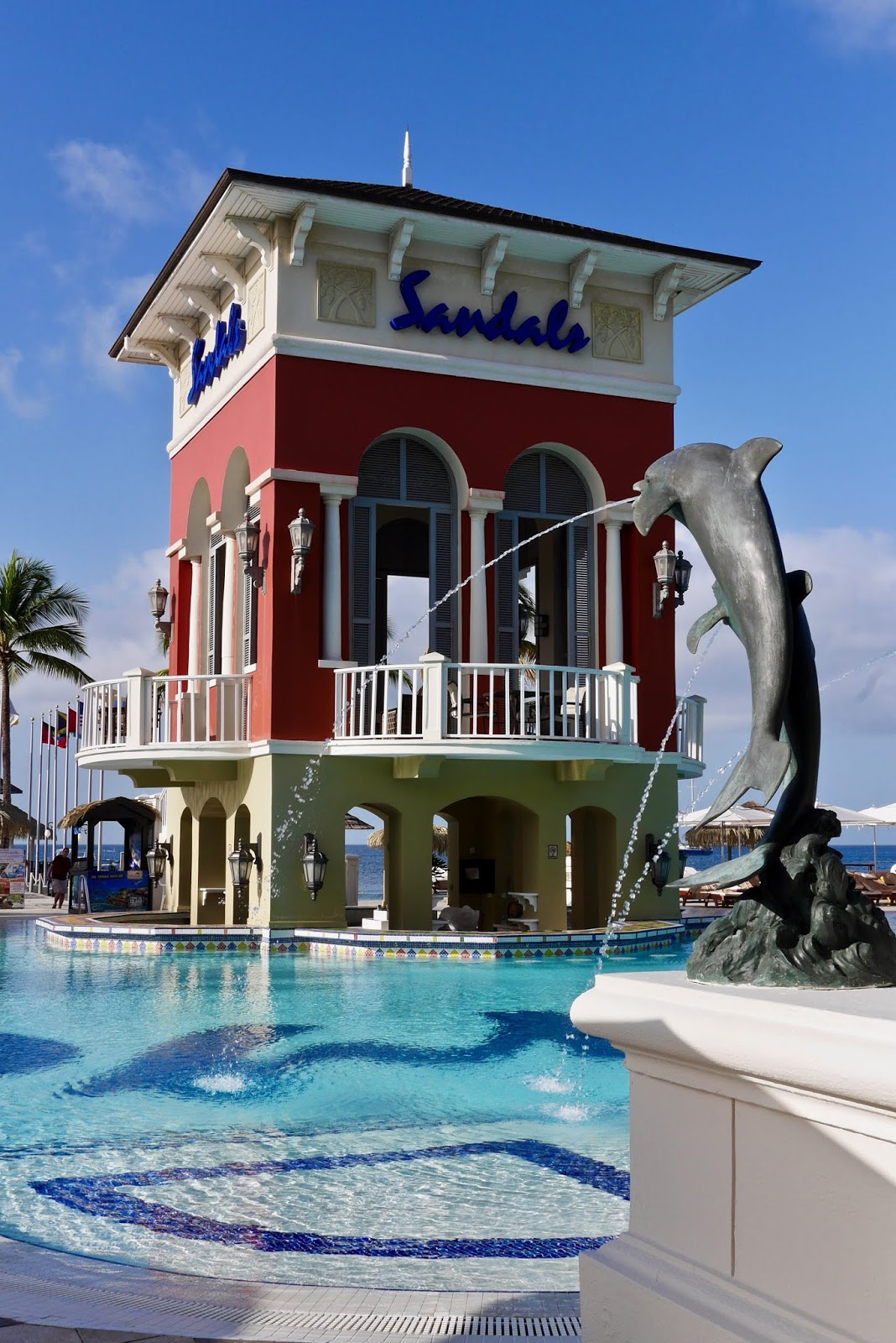 Pool Bar at Sandals Grande St Lucia, Sandals Grande St Lucia Review