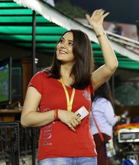 Bollywood Actress Preity Zinta Unseen Photos