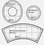 Wild image throughout mad hatter hat template printable