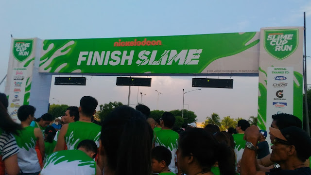 Finish Slime of the Nickelodeon Slime Cup Run 2016