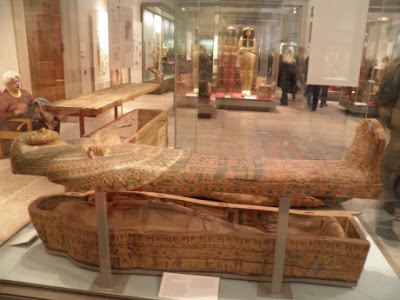 Keranda Puteri Amen-Ra yang disimpan di Muzium Britain, London
