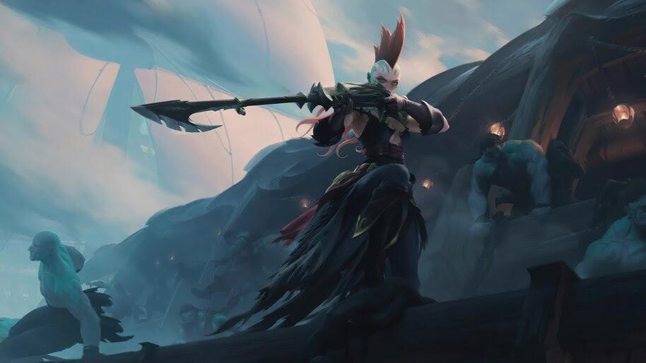 Jagged Taskmaster, Legends of Runeterra, 4K, #3.1766