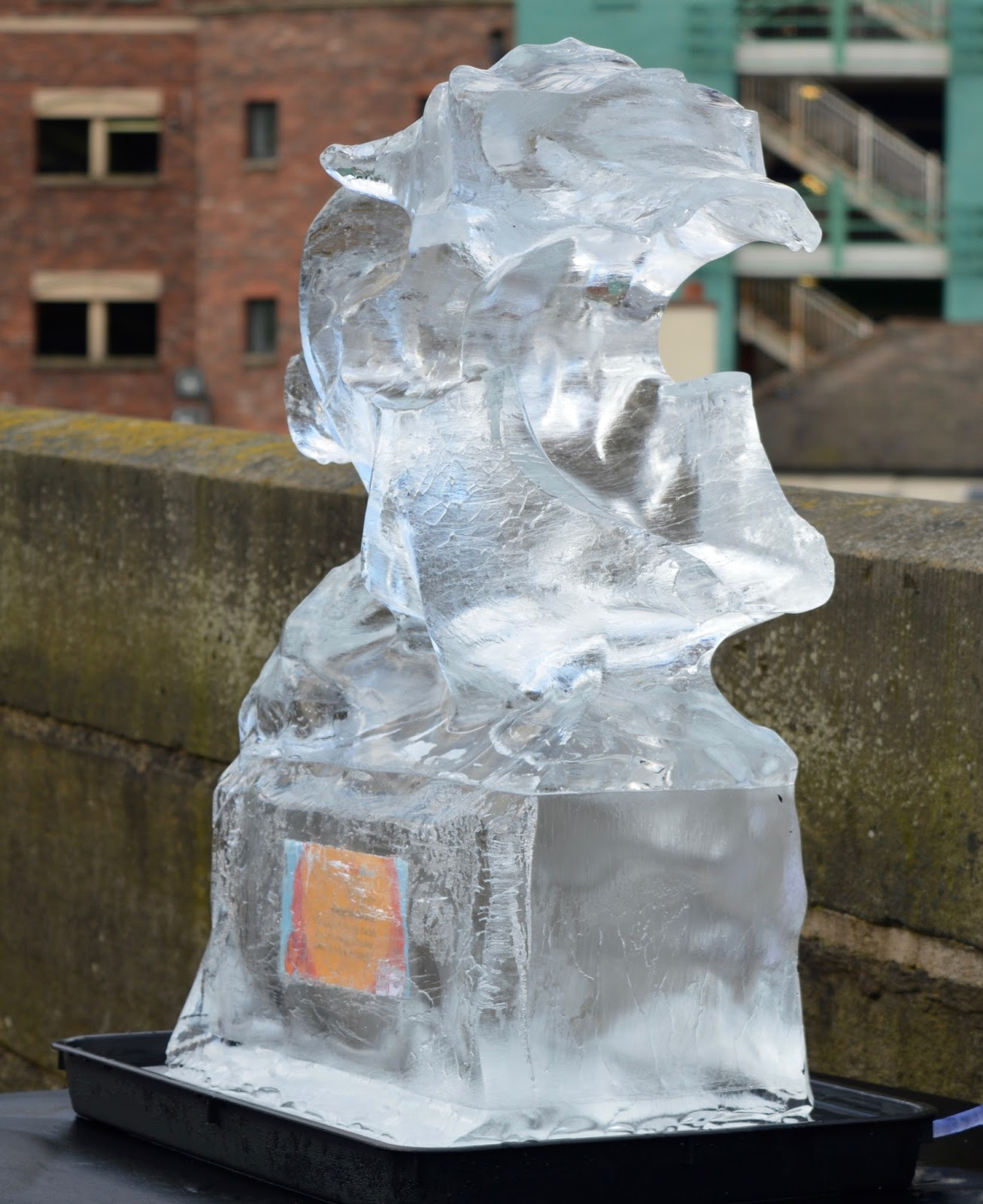 Fire and Ice Durham 2017 | Photographs & Top Tips for 2018 - melted ice sculpture