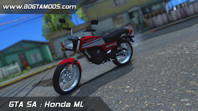 GTA SA - Honda ML 1